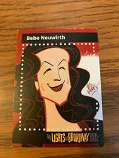 The Lights of Broadway Cards ~ Bebe Neuwirth ~ Autumn 2017