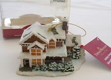 Kurt S Adler Victorian Christmas III Thomas Kinkade House Cottage Ornament 1994