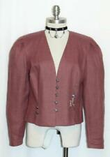 YESSICA/PINK LINEN German Women Summer Fall Dress Suit Pants JACKET Coat 38 8 S