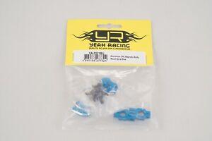 Yeah Racing Sup. Carroz. Magnétiques Réglables ergal CNC Bleu (2pz) Modélisme
