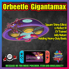 Gigantamax ORBEETLE ✨ 6IV ✨ Square/Ultra Shiny ✨ Pokemon Sword and Shield