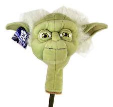 Star Wars Yoda Golf Head Cover Blade Putter and Hybrid Club Headcover Soft Plush