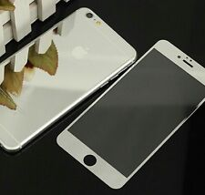 COLOR MIRROR EFFECT FRONT BACK TEMPER GLASS  PROTECTOR FOR IPHONE 7 - Silver