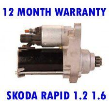 Skoda Rapid 1.2 1.6 2012 2013 2014 2015 Riprodotto Motorino di Avviamento