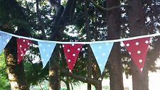 Indoor/Outdoor tradizionale Bunting, macchie Impermeabile/giardino/in Tela Cerata Bunting