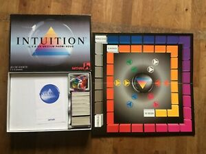 JEU DE SOCIETE INTUITION medium nathan 6 paquets cartes neuves blister complet
