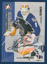 JONATHAN BERNIER 05-06 IN THE GAME HEROES AND PROSPECTS 2005-06 AUTOGRAPH 15928