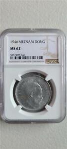 Vietnam 1 Dong 1946 NGC MS 62