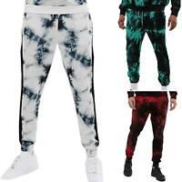 Men's Tie Dye Track Pants Joggers Trousers Sport Running Jogging Gym Sweatpants
