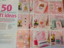 (X5) 50 Festive Kawaii Japan Designs Cards Gifts Christmas Cross Stitch Chart