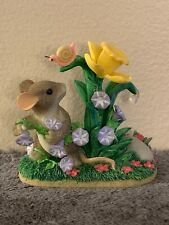 """Fitz And Floyd Charming Tails """"Friendship In Bloom� Figure"""