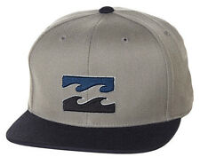 "NEW + TAG BILLABONG MENS BOYS ""ALL DAY"" 110 FLAT PEAK RIM CAP HAT OSFA SNAPBACK"