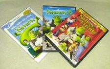 Shrek 1-3 Trilogy (DVD, Dreamworks Animation)