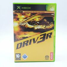 Driv3r Driver Microsoft Xbox PAL Spiel Game Good Bad Both Undercover Tanner