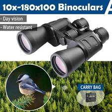50mm Tube 10x-180x100 Zoom Day Vision HD Binoculars Hunt Telescope Outdoor