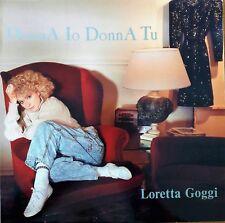 """33 GIRI LP  VINILE  LORETTA GOGGI """" DONNA IO DONNA TU """"1988    NM + NM"""