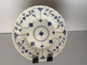 1-50 Churchill Blue Finlandia Salad Plates NWOT