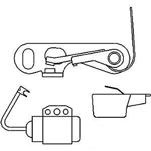 Ignition Tune Up Kit fits Allis Chalmers CA D10 D12 D14 D15 D17 D19 WD