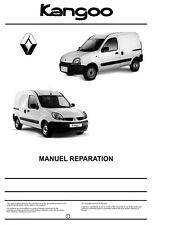 manuel atelier entretien réparation technique Renault Kangoo 1 phase 1-2 + 4x4