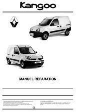 manuel atelier entretien reparation Renault Kangoo 1 phase 1 et 2 + 4x4 - Fr