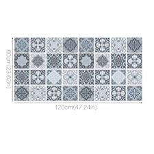 Anti-skid Wearable Flooring Stickers Waterproof Simulation Tile Decals 120*60cm