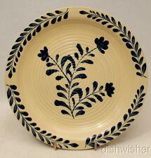 """Cracker Barrel Old Country Store COBALT VINE Salad Plate(s) 8"""" Excellent"""