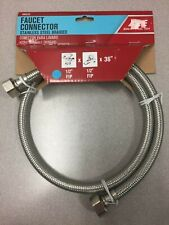 7223-36-12-1-A 36 in. Braided Stainless Steel Supply Line