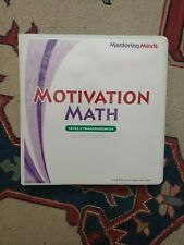 Motivation Math level 2 Teacher transparencies home school