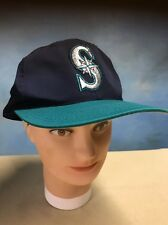 Vintage Hat Cap SnapBack Mens Seattle Mariners MLB Baseball The G Cap EUC