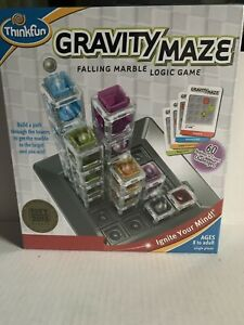 ThinkFun Gravity Maze Marble Run Logic Game and STEM Toy for Boys and Girls...