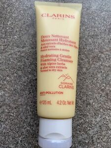Clarins Hydrating Gentle Foaming Cleanser with Aloe Vera 125ml New Sealed