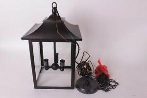 Pottery Barn Classic Indoor/Outdoor Lantern Pendant Light