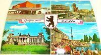 Salutations de Berlin Carte Postale 50er 60er Années 42 Å
