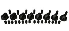 8 X Stoves New World & Belling Cooker Oven Hob Black Control Knobs & Adaptors