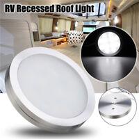 12V LED Interior Roof Ceiling Cabin Light Pure White RV/Caravan/Motorhome Lamp