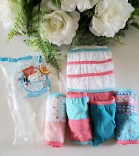 Hanes Girl's Breathable Tagless Cotton Hipsters Underwear Panties 11 Pack Sz 14