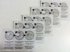 "5 Self Laminating Card Sheets Seal 2 1/2"" X 4"" Great For Business Cards IDs New"