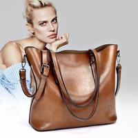 Womens Faux Leather Handbags Shoulder Purse Messenger Satchel Crossbody Tote Bag