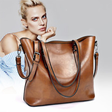 Womens Faux Leather Handbags Shoulder Purse Messenger Satchel Crossbody Tote Bag