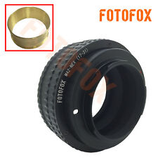 Brass M42-NEX 17-31mm Macro Helicoid Adapter for M42 Lens to Sony E NEX 3 5 6 7