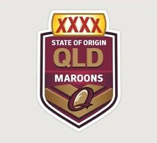 620396 QUEENSLAND MAROONS STATE OF ORIGIN NRL MONSTER DECAL NRL STICKERS SOO QLD