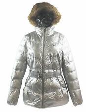 Puma Hall Hooded Silver Womens Girls Jackets 558152 04 M6