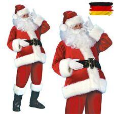 Weihnachtsmann Kostüm Weihnachtsmann Anzug Herren Erwachsene Kostüm Weihnachten