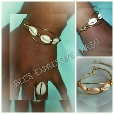 2 piece SET 👑 CUFF BANGLE/BRACELET & RING  By - Bee's Expressive Ears