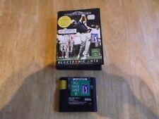 Sega Mega Drive Golf Video Games with Manual