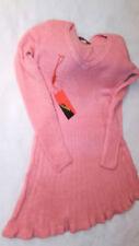 Langarm Damen-Pulloverkleider L