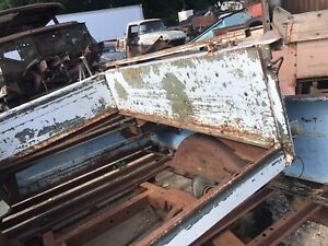 67-72 Chevy GMC Truck 6.5' Bedside Panels, Front Bed Panel  No Fenders No Steps