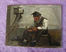 Altes Ölgemälde von 1893 Leon Petna 1846 Besancon - 1921 Zürich