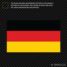 "4"" German Flag Sticker Die Cut Decal Self Adhesive Vinyl Germany"