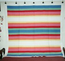 """""""Rainbow"""" in a Border Quilt: 80"""" x 82"""", Midwestern Mennonite, c.1910, Cottons."""